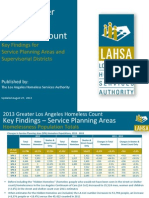 2013 Greater Los Angeles Homeless Count
