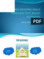 Developing Reading Skills Through Text-based Activities