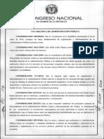 Ley No. 247-12