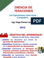 gerencia operaciones