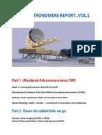 Dead Astronomers Report Vol 1