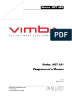 Vimba NET Manual