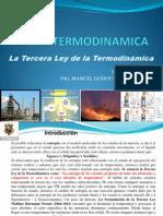 La Tercera Ley de La Termodinamica 15 y 16