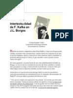 Intertextualidad de Kafka en Borges
