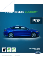 Ford Fusion Magazine - Matthew Curry