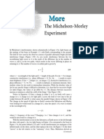 Michelson Morley Experiment