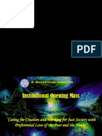Institutional Opening Assembly