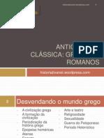 Antiguidade Clc3a1ssica Gregos e Romanos