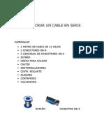 Como Elaborar Un Cable en Serie