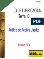 10. Interpretación de Análisis de aceites - Modificado