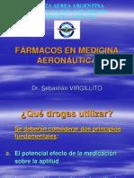 FARMACOS EN MEDICINA AERONÁUTICA
