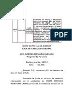 PENSIÓN DE VEJEZ  Requisitos (21-02-12)