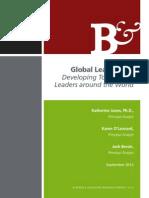 2012 Bersin Global Leadership Developing Tomorrows Leaders