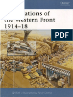 Osprey - Fortress 024 - Fortifications of the Western Front 1914 - 1918