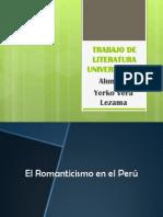 El romanticismo en el Perú
