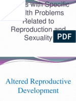 Reproduction and Sexuality Lecture 2
