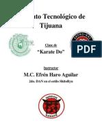 Temario Karate Nuevo