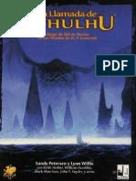 La Llamada de Cthulhu- Libro Básico