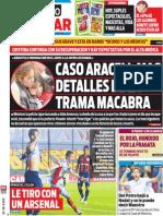 Tapa Diario Popular 13-10-2013