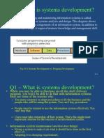 Systems Development- Summary