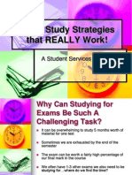 Exam Study Strategies Presentation