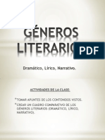 Power Point Generos Literarios