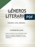 Power Point Generos Literarios