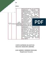 PRESCRIPCIÓN DE LAS ACCIONES LABORALES PENSIÓN DE SOBREVIVIENTES RECLAMACIÓN ADMINISTRATIVA (07-02-12)
