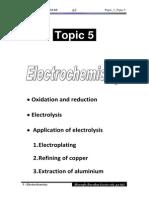 5 Electrochemistry