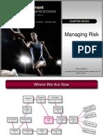 Chapter 7 - Managing Risk