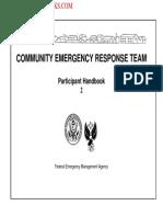 2008 FEMA Community Emergency Response Team Course Tc&Intro 21p