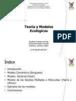 Teoria y Modelos Ecológicos Final