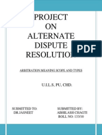Adr Projct 5th Sem