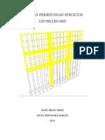 Billboard Design & Analysis Calculation