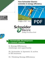 Schneider Energy Efficiency Initiatige General Presentation