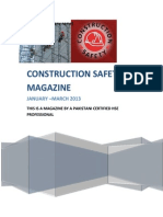 Construction Safety Magazine Jan-mar 2013