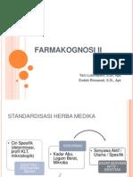 Farmakognosi II. Ke- 5 Pptx