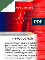 Pathogenesis ACS