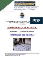 Bases Rastreadores Kanturobot 2013