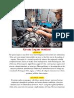 Green Engine seminar report.docx