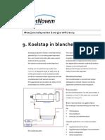 9. Koelstap in Blancheerproces