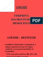 Tipuri de anemii