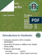 Starbucks overview
