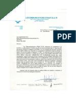 Addendum au contrat Haitel vs. Teleco Contract