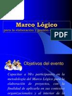 Curso Marco Logico 2009