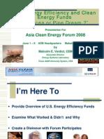 Verdict Session21 ACEF2008