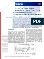 Labour Costs and Crisis Management in the Eurozone