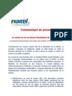 Haitel Communique 28janvier2013 Final