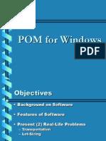 Pom for Windows