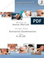 Oral Diagnosis Script3 Extraoral Examination